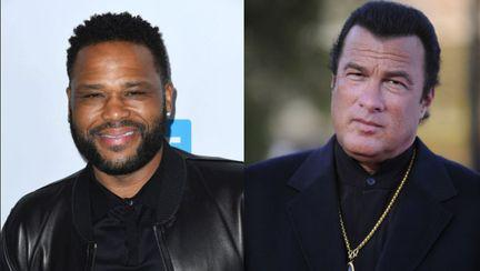 Steven Seagal și Anthony Anderson