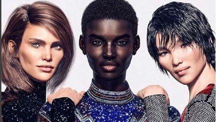 Margot, Shudu şi Zhi , cele trei modele virtuale