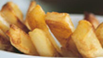 Cartofi prajiti la cuptor, cu grasime putina