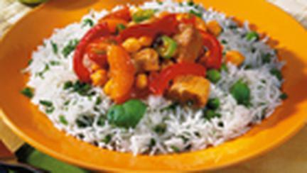 Curry de vitel cu orez