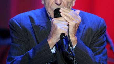 Leonard Cohen canta din nou la Bucuresti