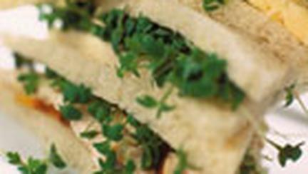 Sandvis cu piept de pui si creson