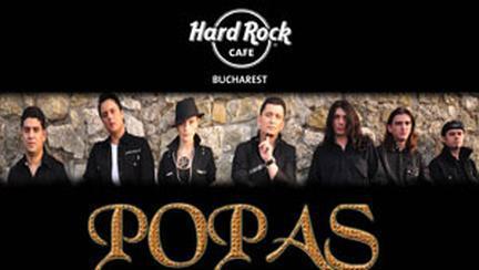 Concert Popas Band la Hard Rock Cafe