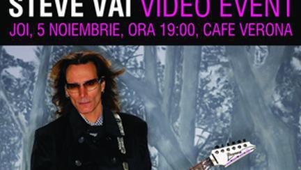 A&A Records si Star Management va invita la Steve Vai Video Event