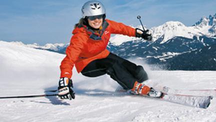 La schi, in Austria