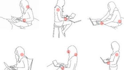 Cea mai confortabila pozitie de utilizare a unui mini laptop