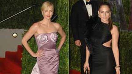 Moda vedetelor la Vanity Fair Oscar Party