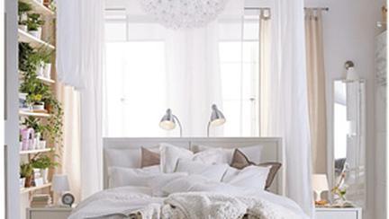 Decoreaza-ti dormitorul in alb!