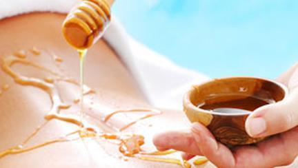 Masajul cu miere de albine