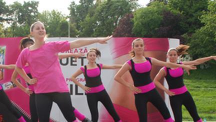 Prin dans, Nestlé Fitness si C.R.B.L promoveaza un stil de viata echilibrat
