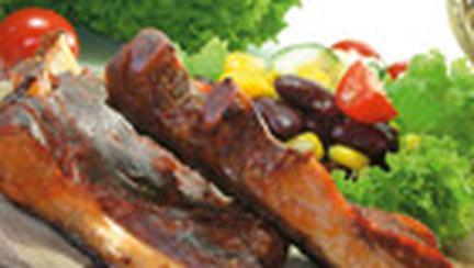 Coaste de porc cu sos iute