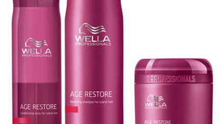 Age Restore de la Wella pentru parul matur