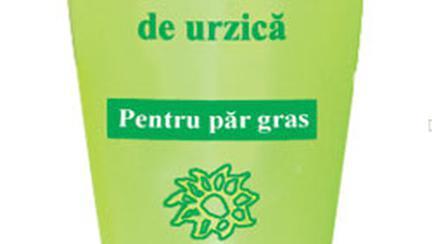 Naturalis, sampon cu extract de urzica pentru par gras