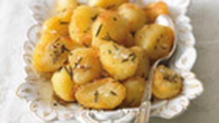 Cartofi copti, cu rozmarin si Placintele cu cartofi si branza