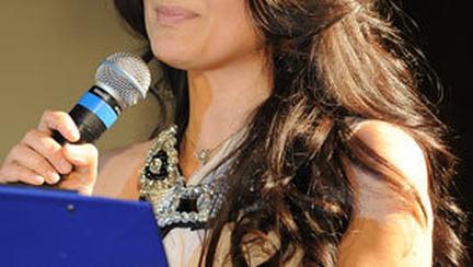 Malvina Cervenschi prezinta Gala Premiilor «Femeia Anului 2010»