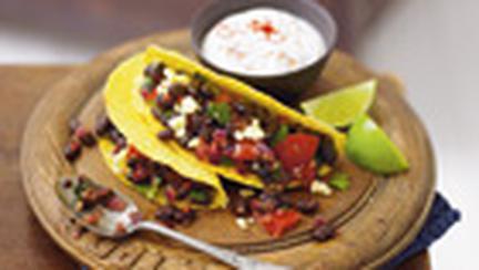 Tacos cu fasole afumata