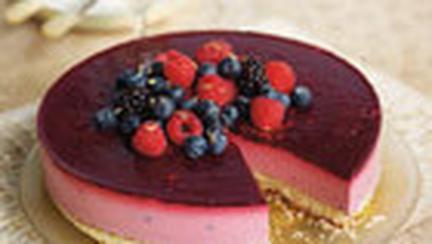 Tort cu spuma de fructe