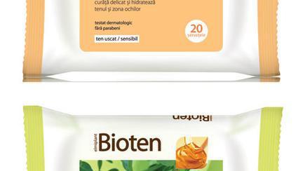 Servetele Demachiante Bioten