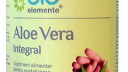 Gel, suc si pulpa de Aloe Vera intr-un nou supliment nutritiv