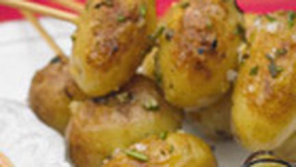 Frigarui cu cartofi noi si usturoi
