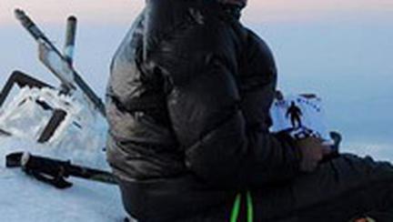 Alpinista Crina Popescu  pleaca intr-o noua expeditie