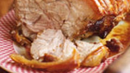 Friptura din pulpa de porc cu crusta rumenita