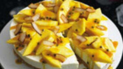 Cheesecake cu fructe exotice
