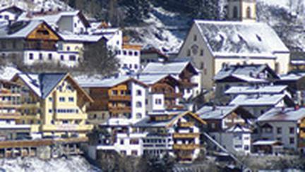 In Austria, sezonul de schi continua