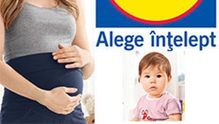 Oferte speciale pentru bebelusi si viitoare mamici, la Lidl