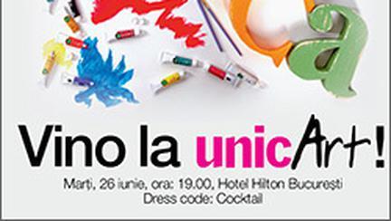 Vino la UnicArt – licitatie caritabila!