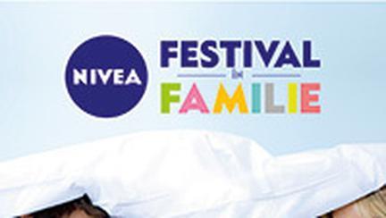 NIVEA festival in familie