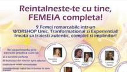 Reîntâlneşte-te cu tine la Academia Femeilor