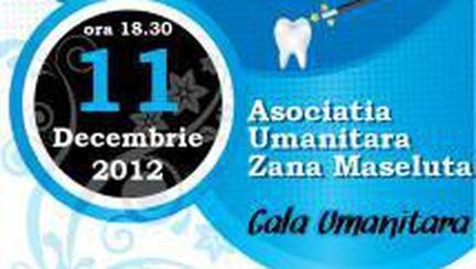 Ajuta prin Gala Umanitara Zana Maseluta