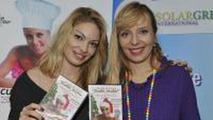 Roxana Iliescu a scos primul DVD de retete culinare
