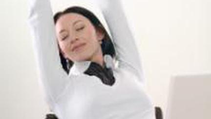 Slabit rapid: Cum sa faci exercitii fizice la job