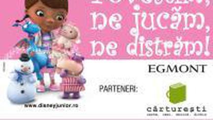 baby şi Disney Junior te invită la babyblioteca!