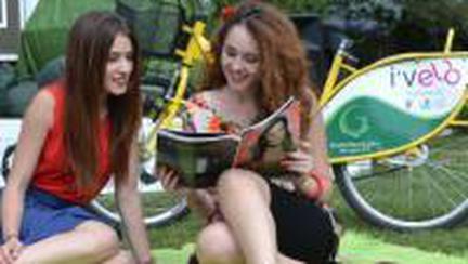 Summer Bike Fiesta: Hai cu bicicleta în parc!