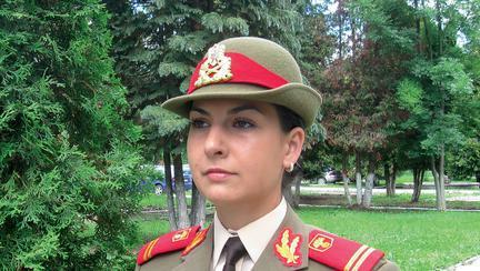 La 26 de ani, Andreea Ciurea a fost deja în prima misiune în Afganistan