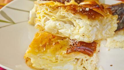 Plăcintă cu iaurt și lămâie