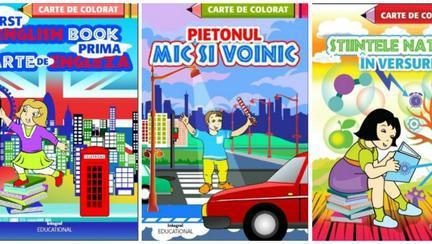 Câștigă un set de cărți educative pentru copilul tău