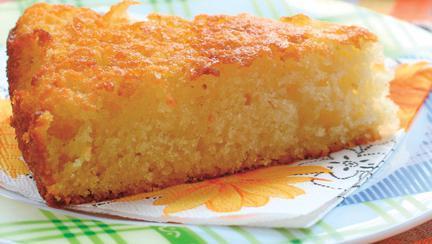 Prăjitură de griș, însiropată