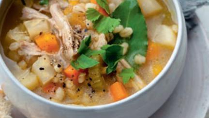 supa de pui cu orz