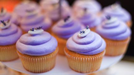 cupcakes cu lavanda