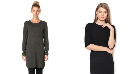 Modele de rochii tricotate pe care să le cumperi de Black Friday