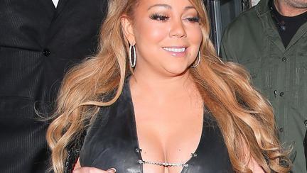 Mariah Carey kilograme în plus