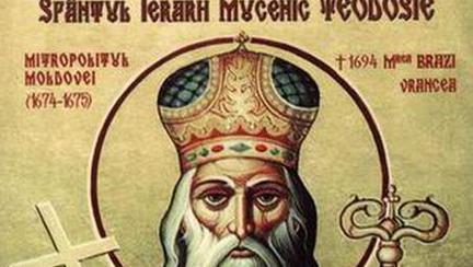 Pe 22 septembrie îl prăznuim pe Sfântul Teodosie de la Brazi, mare făcător de minuni