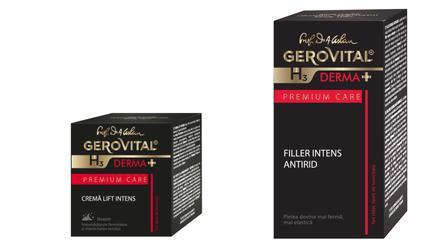 """(P) Gama Gerovital H3 Derma+ Premium Care spune """"Adio ridurilor!"""
