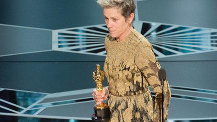 Oscar furat Frances McDormand