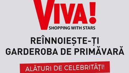 Hai cu noi în oraș! Revista VIVA! și București Mall te invită la o seară de răsfăț, alături de vedetele tale preferate