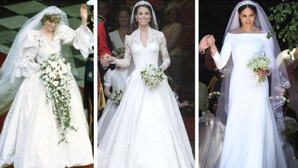 rochiile de mireasă de la nunțile regale
